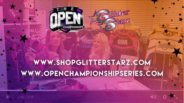 GlitterStarz – An Official Partner of the Open Championship Series
