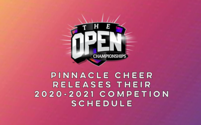 Save the Dates! Pinnacle Cheer Releases their 2020-2021 Event Dates