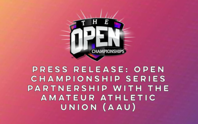 Open Championship Series Partnership with the Amateur Athletic Union (AAU)
